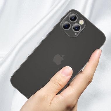 Чехол для iPhone 12 Pro Max 0,4 mm LolliPop черный, фото №3