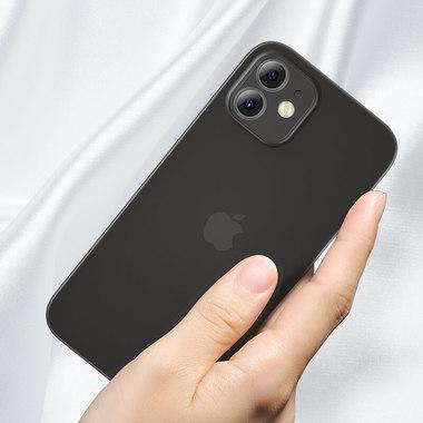 Чехол для iPhone 12 0,4 mm LolliPop черный, фото №2