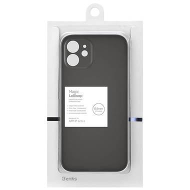 Чехол для iPhone 12 0,4 mm LolliPop черный, фото №5