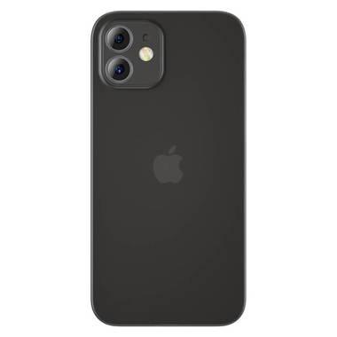 Чехол для iPhone 12 0,4 mm LolliPop черный, фото №1