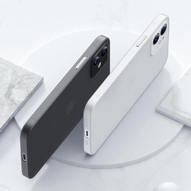Чехол для iPhone 12 0,4 mm LolliPop черный, фото №4