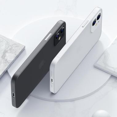 Чехол для iPhone 12 0,4 mm LolliPop белый, фото №2