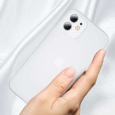 Чехол для iPhone 12 0,4 mm LolliPop белый, фото №3