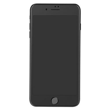 Матовое стекло на iPhone 7Plus/8Plus - черная рамка KR Pro 3D, фото №2