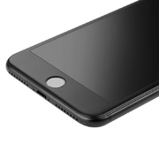Матовое стекло на iPhone 7Plus/8Plus - черная рамка KR Pro 3D