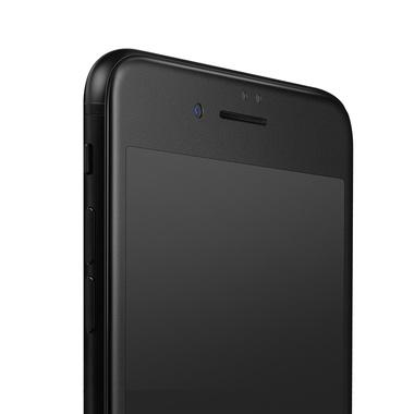 Матовое стекло на iPhone 7Plus/8Plus - черная рамка KR Pro 3D, фото №7