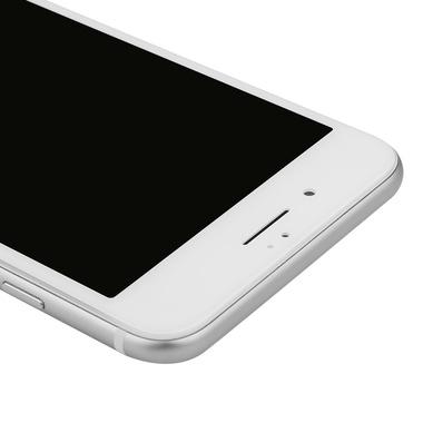 Приватное затемняющее стекло на iPhone 7Plus/8Plus - белая рамка KR Pro 3D, фото №3