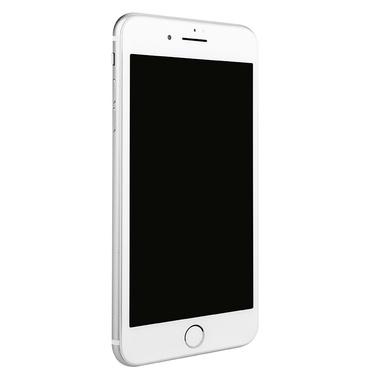 Приватное затемняющее стекло на iPhone 7Plus/8Plus - белая рамка KR Pro 3D, фото №1