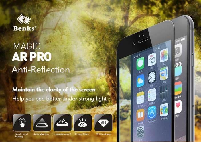 Benks. Антибликовое защитное стекло для iPhone 6/6S на весь экран. Подробный анализ.
