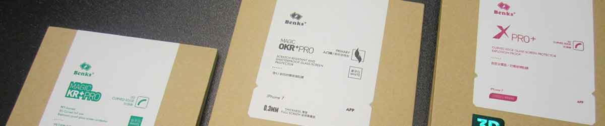 Сравнение защитного стекла для iPhone 7. OKR-KR-XPro серии