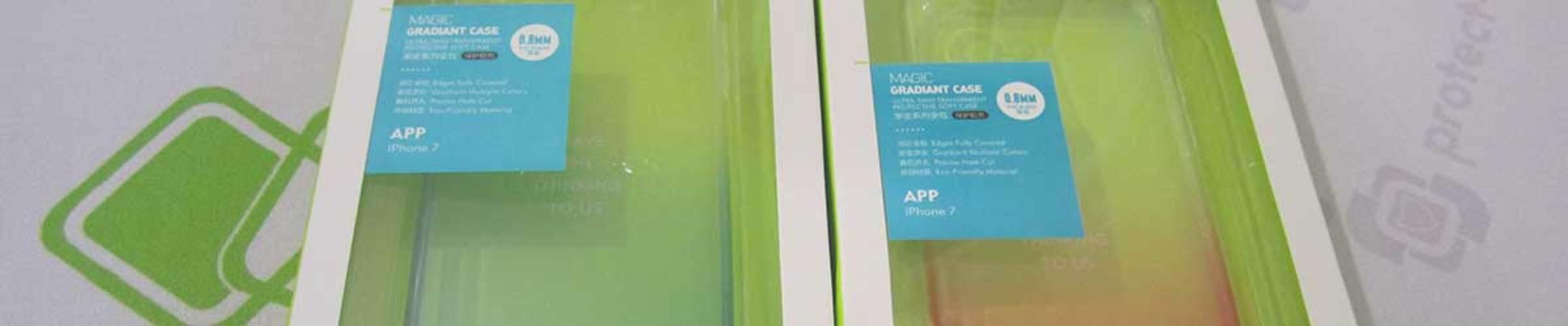 Обзор градиентного чехла для iPhone 7/8 - 7Plus/8Plus