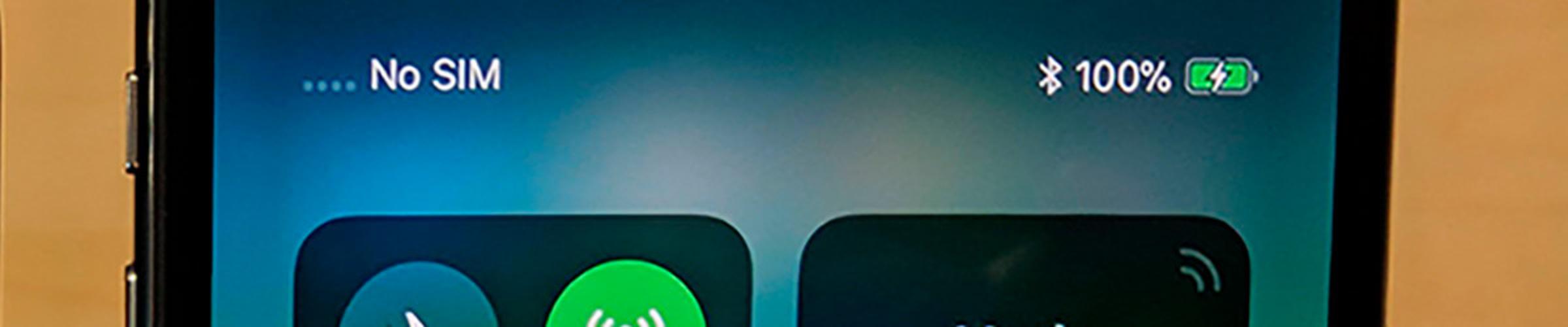 Заряд в процентах на iPhone X