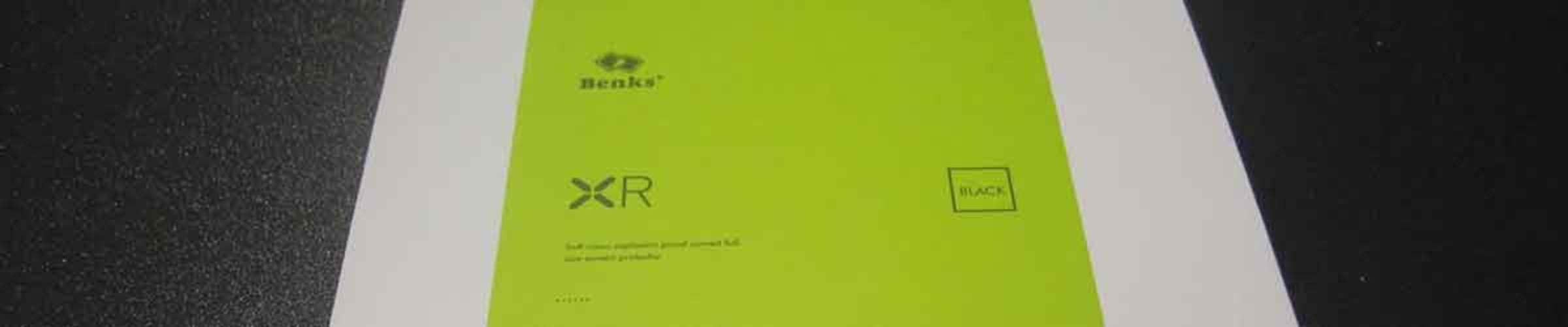 Обзор защитной пленки для iPhone 7/7Plus от Benks. Серия XR