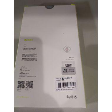 Benks чехол для iPhone 7/8 Electroplating Серебряный, фото №2
