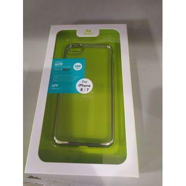Benks чехол для iPhone 7/8 Electroplating Серебряный, фото №3