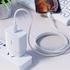MFI Lightning - Type C кабель белый 180 см M13 PD, фото №5