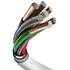 MFI Lightning - Type C кабель белый 180 см M13 PD, фото №9