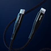MFI Lightning - Type C кабель черный 180 см - фото 1