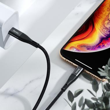MFI Lightning - Type C кабель черный 180 см, фото №8
