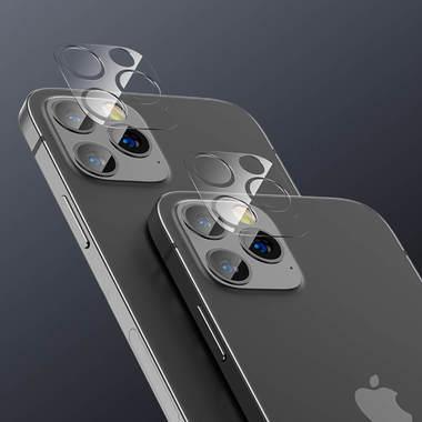 Защитная пленка на камеру для iPhone 12 Pro Max - 2шт., фото №6