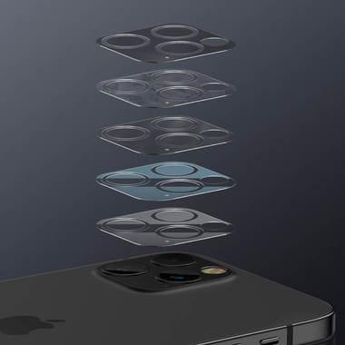 Защитная пленка на камеру для iPhone 12 Pro Max - 2шт., фото №1