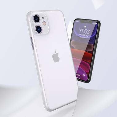 LolliPop чехол для iPhone 11  0,4 mm - белый полупрозрачный, фото №2