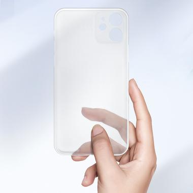 LolliPop чехол для iPhone 11  0,4 mm - белый полупрозрачный, фото №10