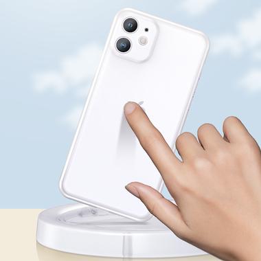 LolliPop чехол для iPhone 11  0,4 mm - белый полупрозрачный, фото №1