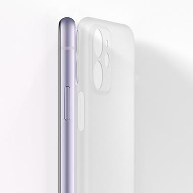 LolliPop чехол для iPhone 11  0,4 mm - белый полупрозрачный, фото №8