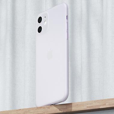 LolliPop чехол для iPhone 11  0,4 mm - белый полупрозрачный, фото №7