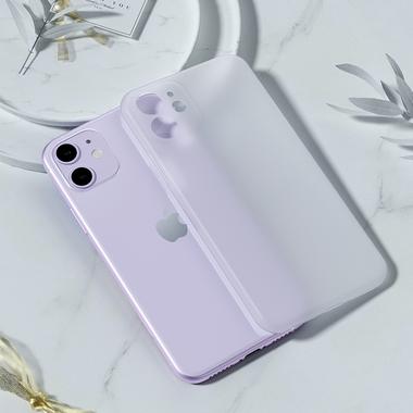 LolliPop чехол для iPhone 11  0,4 mm - белый полупрозрачный, фото №3