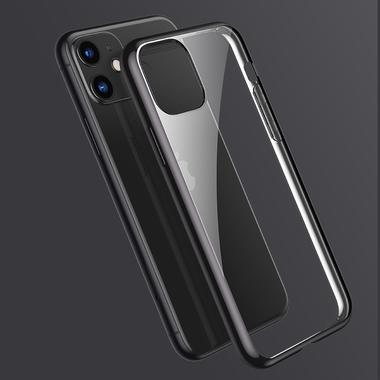 Чехол для iPhone 11 Magic Glitz - черный 1.2 мм, фото №3