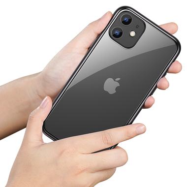 Чехол для iPhone 11 Magic Glitz - черный 1.2 мм, фото №1