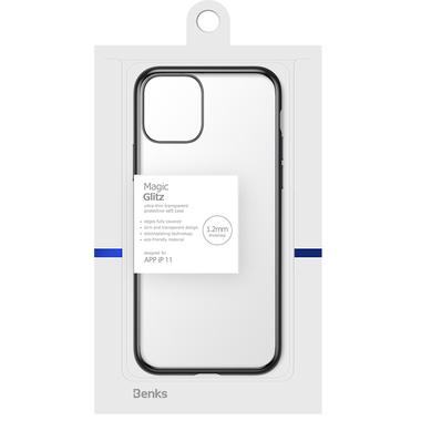 Чехол для iPhone 11 Magic Glitz - черный 1.2 мм, фото №10