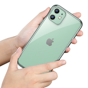 Чехол для iPhone 11 Magic Glitz зеленый 1,2 мм - фото 1