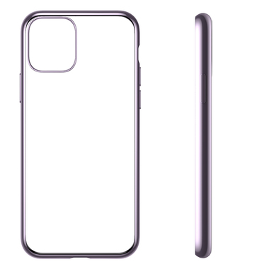 Чехол для iPhone 11 Magic Glitz фиолетовый 1,2 мм, фото №3