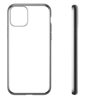 Чехол для iPhone 11 Magic Glitz серебряный 1,2 мм, фото №2