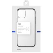 Чехол для iPhone 11 Magic Glitz серебряный 1,2 мм - фото 1