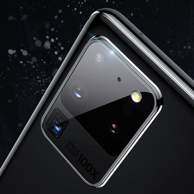 Защитное стекло на камеру для Samsung Galaxy S20 Ultra, фото №10