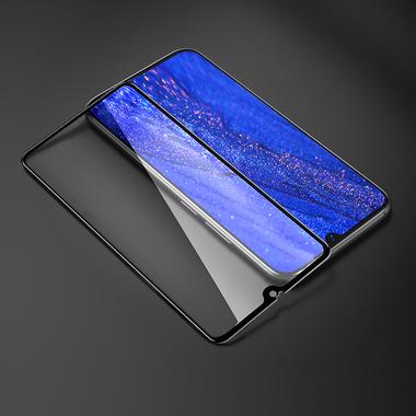 Защитное стекло для Huawei Mate 20, Vpro 0,3 мм - черная рамка, фото №10