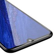 Защитное стекло для Huawei Mate 20, Vpro 0,3 мм - черная рамка - фото 1
