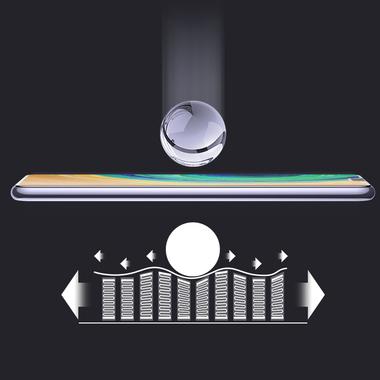 Защитное стекло для Huawei Mate 30, Vpro 0,3 мм - черная рамка, фото №8