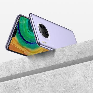 Защитное стекло для Huawei Mate 30, Vpro 0,3 мм - черная рамка, фото №11