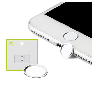 Защитная накладка на кнопку Home - Серебряная, фото №3