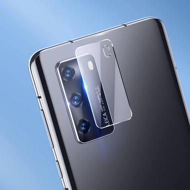 Защитное стекло для Huawei P40 на камеру 2шт., серия KR, фото №1