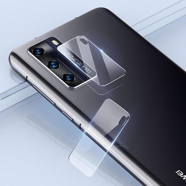 Защитное стекло для Huawei P40 на камеру 2шт., серия KR, фото №11