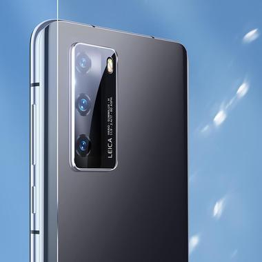 Защитное стекло для Huawei P40 на камеру 2шт., серия KR, фото №14