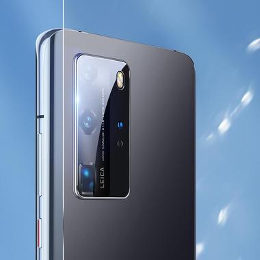 Защитное стекло для Huawei P40 Pro на камеру 2шт., серия KR, фото №16