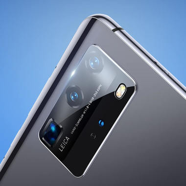 Защитное стекло для Huawei P40 Pro на камеру 2шт., серия KR, фото №17