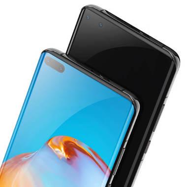 Защитное 3D стекло для Huawei P40 Pro - 0,3 мм., серия Anti Blue Xpro 3D, фото №4